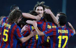 Ibrahimović je u Španjolskoj igrao za Barcelonu (Foto: AFP)