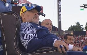 Diego Maradona (Screenshot)