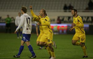 Emir Hadžić slavi gol (Foto: Ivo Cagalj/PIXSELL)