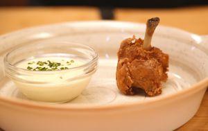 Master trikovi: Pileći lolipop s origano jogurt dipom