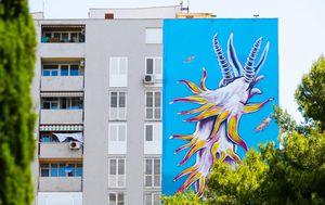 Mural u Šimićevoj ulici na Blatinama