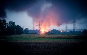 Požar u rafineriji u Njemačkoj 1 (Foto: AFP)