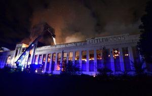 Požar zahvatio Littlewood (Foto: BBC)