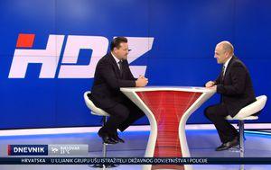 Mislav Bago razgovara s gostom u Dnevniku Nove TV Lovrom Kuševićem (Foto: Dnevnik.hr)