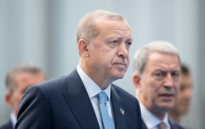 Tayyip Erdogan (Photo by Jasper Juinen/Getty Images)