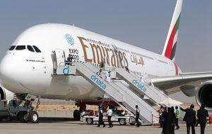 Avion Emiratesa, ilustracija (Foto: AFP)