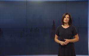 Ana Bago Tomac donosi vremenku prognozu (Foto: Dnevnik.hr)