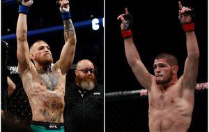 McGregor vs. Khabib (Foto: AFP)