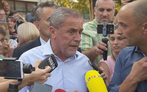 Roditelji vikali na zagrebačkog gradonačelnika Milana Bandića (Foto: Dnevnik.hr) - 1