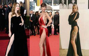 Angelina Jolie, Bella Hadid, Ella Dvornik (Foto: Getty, Instagram)