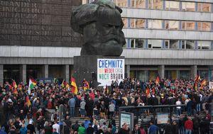 Prosvjed u Chemnitzu (Foto: AFP)