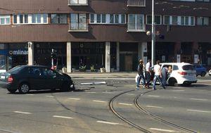 Sudar na križanju Savske i Vukovarske (Foto: Dnevnik.hr)