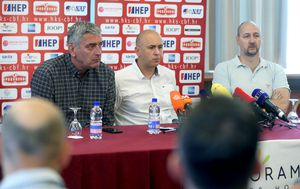 Stojko Vranković, Dražen Anzulović i Dino Rađa (Foto: Igor Kralj/PIXSELL)