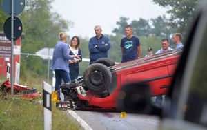 Prometna nesreća u Istri (Foto: Danilo Memedović/Glas Istre)