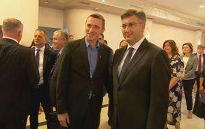 Gradonačelnik Vukovara Ivan Penava i premijer Andrej Plenković (Foto: Dnevnik.hr)