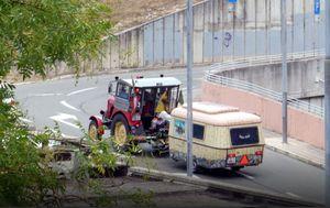 Turist na traktoru (Foto: S.S.)