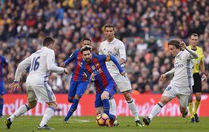 Messi, Ronaldo i Modrić (Foto: AFP)