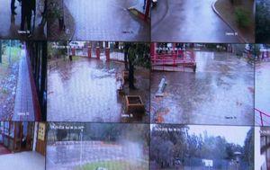 Nadzorne kamere u školi u Vukomercu (Foto: Dnevnik.hr)
