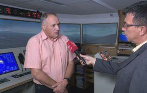 Damir Zec, profesor sigurnosti na moru (PFRI), i Marko Balen (Foto: Dnevnik.hr)