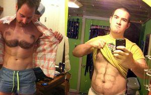 Muška depilacija (Foto: brightside.me)