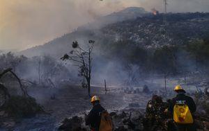 Gašenje požara na Pelješcu (Foto: MORH)
