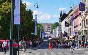 Oslo: Karl Johans gate (Foto: VISITOSLO/Tord Baklund)