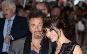 Al Pacino i Lucila Sola (Foto: Doug Peters/Press Association/PIXSELL)
