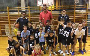 Dalibor Bagarić i Mala škola košarke Rudeš (Foto: KK Rudeš)