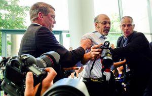 Novinar izbačen s presice Erdogana i Merkel (Foto: AFP)