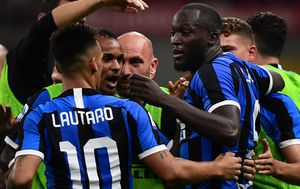 Inter slavi (Foto: AFP)