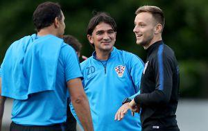 Zlatko Dalić i Ivan Rakitić (Foto: Igor Kralj/PIXSELL)