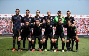 Hrvatska momčad protiv Walesa (Photo: Goran Stanzl/PIXSELL)