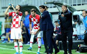 Brozović, Barišić i izbornik Dalić (Foto: Luka Stanzl/PIXSELL)