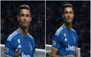 Cristiano Ronaldo u obračunu s navijačima Atletica (Screenshot)