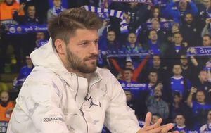 Bruno Petković u Dnevniku Nove TV (Foto: GOL.hr)