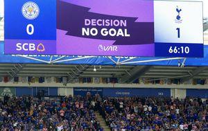 Leicester - Tottenham (Foto: AFP)
