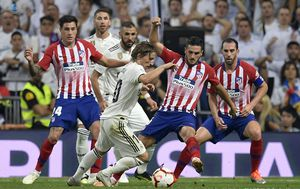 Real - Atletico Madrid (Foto: AFP)
