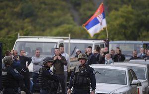 Postrojbe specijalnih specijalne policije Kosova na Jarinju, graničnom prijelazu s Kosovom - 3