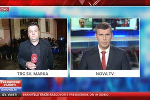 Prosvjede branitelja Hrvatska pratila uz Novu TV - 2
