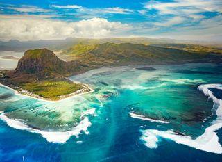 Podvodni vodopad, Mauricijus - 2