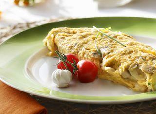 Omlet, ilustracija
