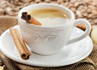 Kava s cimetom