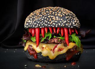KIng\'s Bounty II čili burger