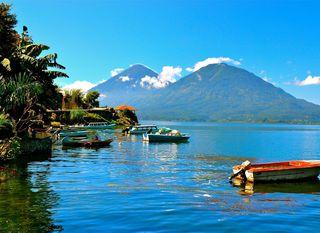 Jezero Atitlan, Guatemala