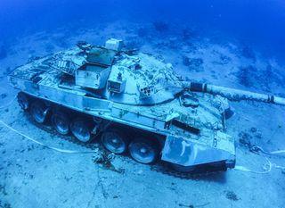 Podvodni vojni muzej u Jordanu - 1