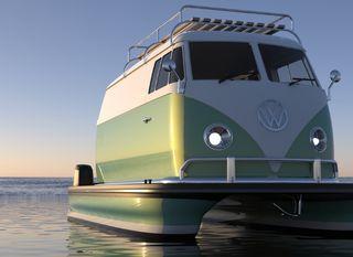 Plutajući VW kamper