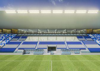 Novi izgled stadiona na Pampasu (Foto: NK Osijek)