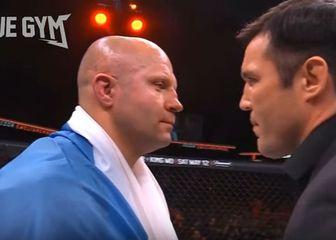 Fedor Emelianenko i Chael Sonnen (Screenshot YouTube)