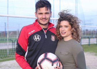 Kristijan Lovrić i djevojka Monika