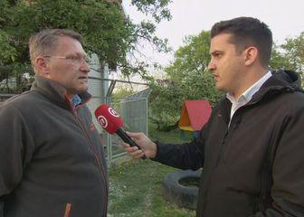 Damir Skok, ravnatelj zagrebačkog Zoološkog vrta, i Domagoj Mikić (Foto: Dnevnik.hr)
